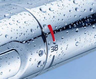 5 tips om water te besparen in de badkamer - Voordelen van een thermostaatkraan