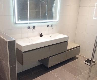 Binnenkijkers - Moderne badkamer in Deventer