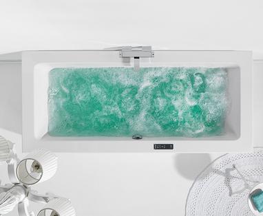 Bad in de slaapkamer - Materiaal van een ligbad: dit zijn de verschillen