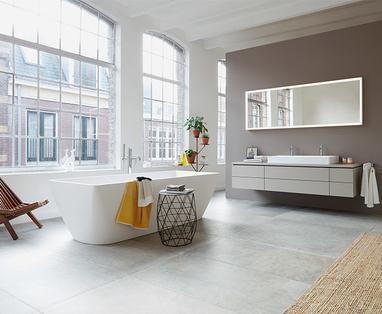 5 badkamer voorbeelden: moderne badkamer - Bad in de slaapkamer