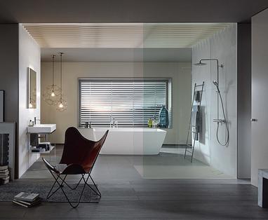Trend: Betonlook in de badkamer - Industriële doucheruimte: een trendy douchebeleving