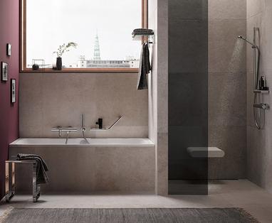Veilige comfort badkamer slim inrichten - De veilige badkamer voor de toekomst