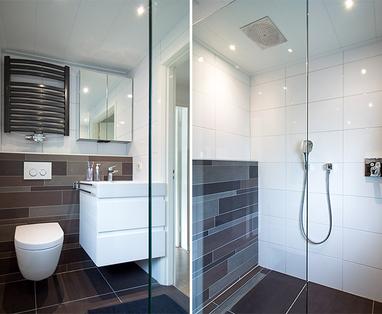 Inspiratie - Kleine badkamer in Waalwijk
