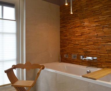 Inspiratie - Natuurlijke badkamer in Ossendrecht