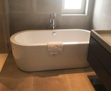 Inspiratie - Moderne badkamer en toilet in Zutphen