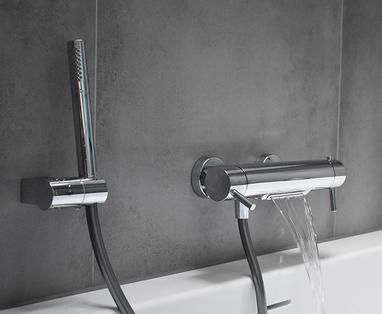 Inspiratie - Industriële badkamer voor het hele gezin in Ouderkerk a/d Amstel