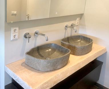 Inspiratie - Landelijke badkamer in Doetinchem
