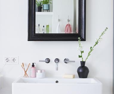 Opruimtips voor de badkamer - Snelle schoonmaaktips voor de badkamer