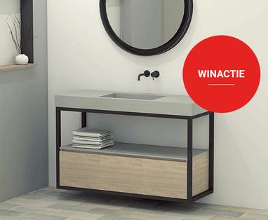 Inspiratie - Zwart en staal in de badkamer: trend van het moment!