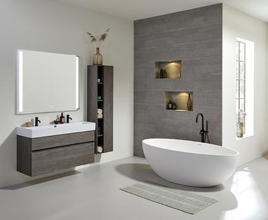 Grote badkamer indelen - De badkamer verbouwen, wat komt daarbij kijken?