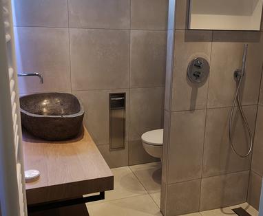 Inspiratie - Trendy badkamer in Mijdrecht
