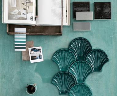 Pastelkleuren in de badkamer - De badkamertrends van 2020