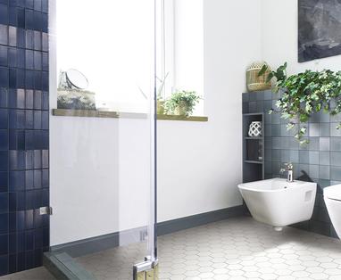 Ontwerp - Legpatronen voor badkamertegels