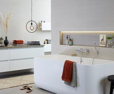 Grote badkamer indelen - Een nieuwe badkamer: waar moet je aan denken?
