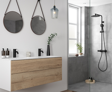 Badkamer accessoires zwart - Dit zijn dé badkamertrends van dit moment