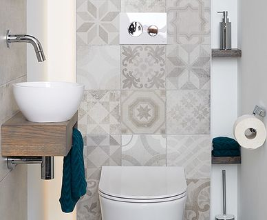 Mix & Match Toilet - Mix & Match Tegels