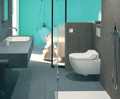 Geberit Rimfree toilet - Geberit AquaClean Tuma