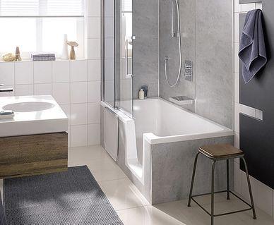 HSK Edelglas - HSK Dobla: ligbad en douche in één