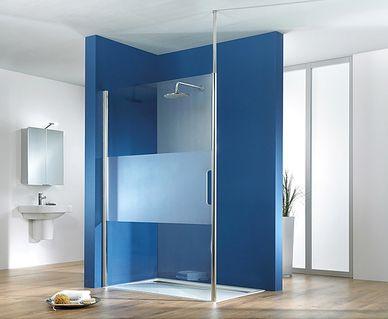 HSK Dobla: ligbad en douche in één - HSK Walk In inloopdouche