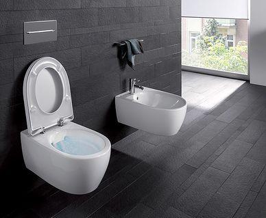 Geberit AquaClean Mera douchewc - Geberit Rimfree toilet