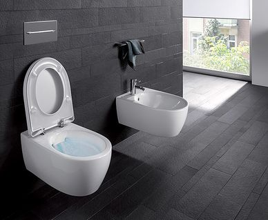 Geberit AquaClean Sela douchewc - Geberit Rimfree toilet