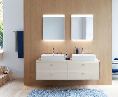 Duravit toilet - Duravit Brioso badkamermeubel serie
