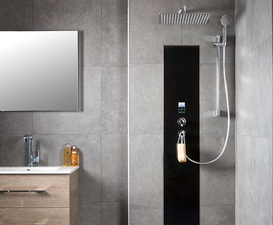 Xenz douchevloeren en cabines - Xenz Upfall shower