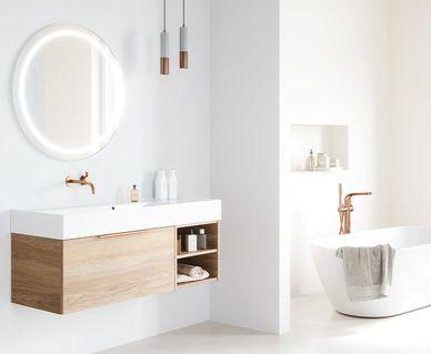 Thebalux spiegels en spiegelkasten - Thebalux wastafels