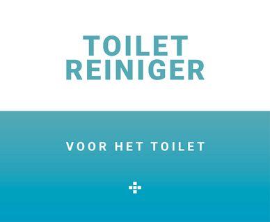 Baden+ schoonmaakmiddelen - Toilet reiniger