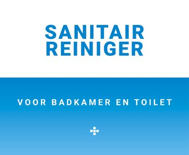 Spiegel reiniger - Sanitair reiniger