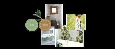 Moderne badkamer inrichten - Banner - Badkamer moodboard [g]