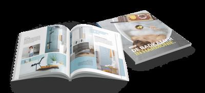 Badkamer accessoires zwart - Banner - Badkamerboek Trends