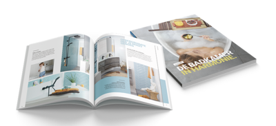 Moderne badkamers - Banner - Badkamerboek