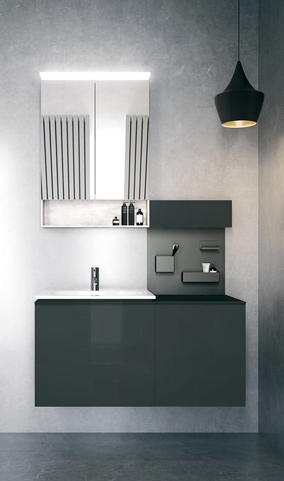 Familie badkamer - ergonomisch badkamermeubel