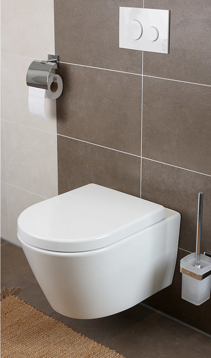 Kleine badkamer - Compact toilet voor meer ruimte