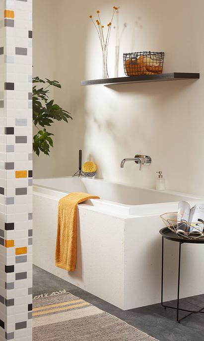 familie badkamer met extra ruim bad