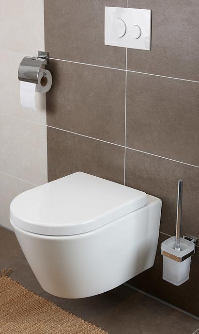 Toilet metselwerk blok 4 - Hangend toilet