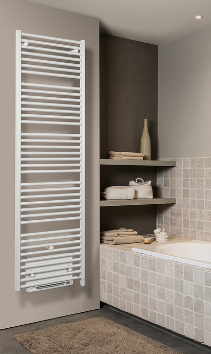 Verwarming in de badkamer - elektrische verwarming