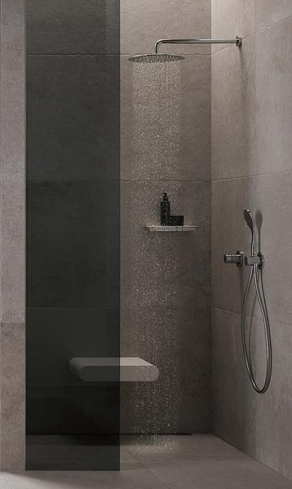 Comfort badkamer - douche met zitje