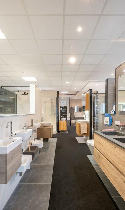 BadkamerID showroom badkameropstellingen