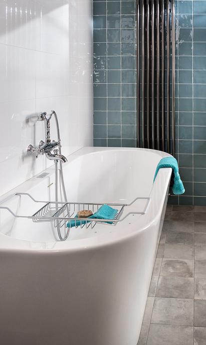 Mix & Match half vrijstaand bad