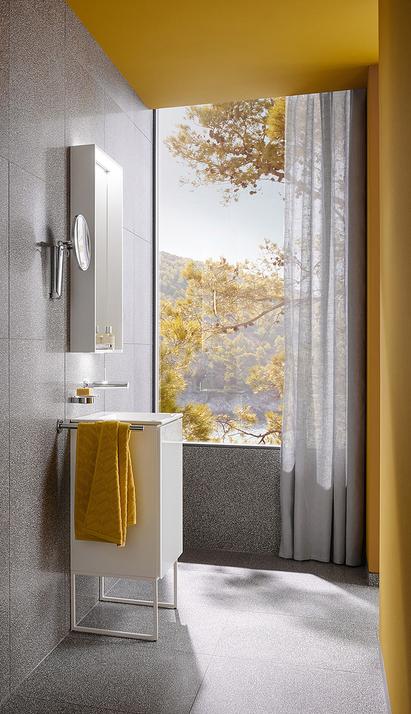 Keuco - badkamermeubels - plan kleine badkamer - wit