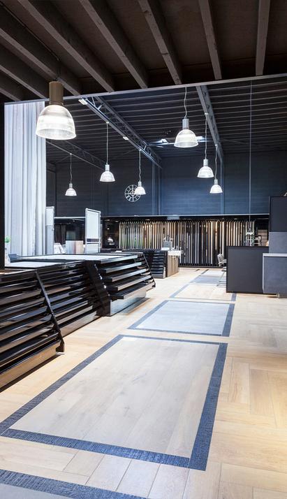 St Pieter Eindhoven Showroom tegels