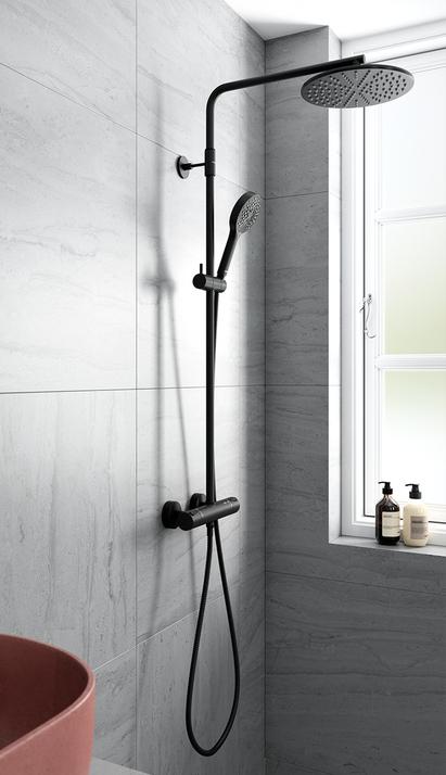 Industrieel - douchen - Silhouet