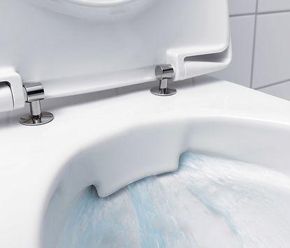 Toilet metselwerk blok 2 - Randloos toilet