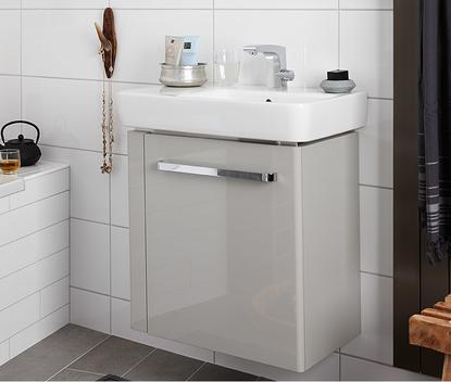Kleine badkamer - Compact badkamermeubel