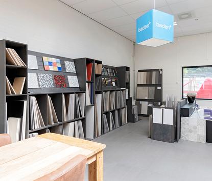 AGO Badkamer & Tegels showroom tegelafdeling