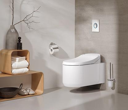 Luxe badkamer - douchewc met uniek design