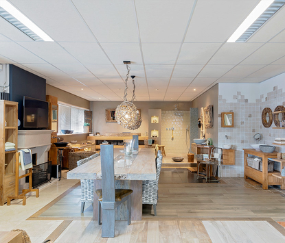 Hamer Badkamers showroom