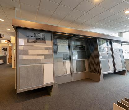 Sanitair- en Tegelhuis Steenbergen showroom tegelafdeling